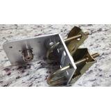 Kit Base Para Antena Py Vhf Uhf Base Alumínio Para Uso Fixo
