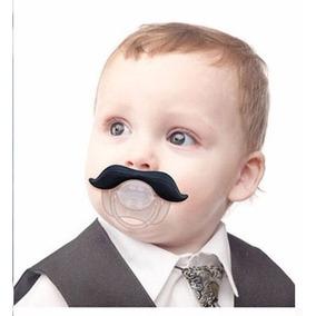 Chupeta Engraçada Bico Divertido Bebê Bigode Vários Modelos