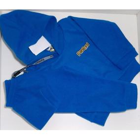Conjunto Infantil Roupas De Criança Frio Fantini Soft Azul