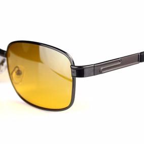 Óculos Noturno Lente Amarela Filtro Visão Uv-400 + Brinde