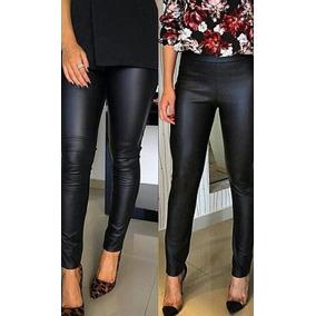 Calça Legging Cirre Lycra Cintura Alta Hot Disco Pants Leg