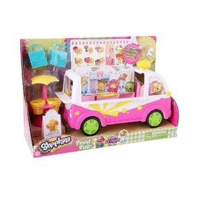 Caminhão De Sorvete Shopkins - Dtc 3733