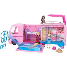 Trailer Dos Sonhos Real Barbie Mattel