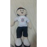Boneco Mascote Pano Time Corínthians 50 Cm Lindooo!!!