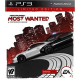 Need For Speed Most Wanted Digital Original Ps3