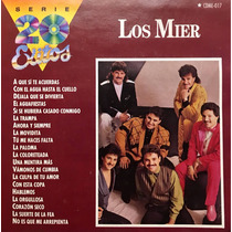 Cd Los Mier Serie 20 Exitos