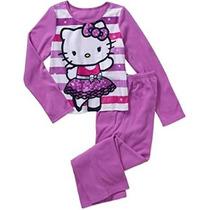 Pijama Hello Kitty Para Niña Talla 7/8