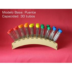 Porta Puente + 30 Tubos Golosineros Fibrofacil Candy Bar