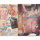 Genesis In Concert Phil Collins Vhs Musical