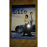 Box/dvd. Life. Primeira Temporada. 4 Discos. Lacrado. F18