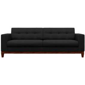 Sofa Hugo Living Pe Base Madeira Luxo Antigo Retro Vintage 3