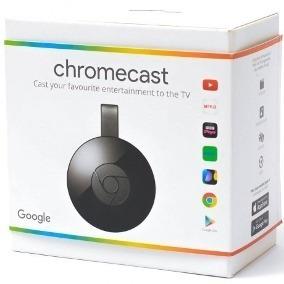 Chromecast 2 Hdmi Novo - 210,00 Á Vista