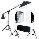 Kit Estudio Fotográfico Fotografía 3 Softbox Vp0072m