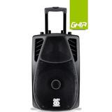 Bafle Amplificado Bocina 12 Pulg Ghia-colosso Recargable 12