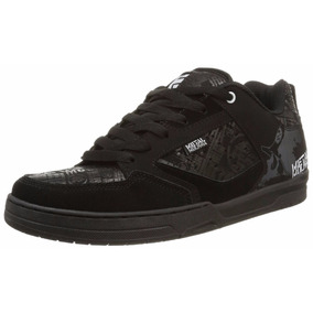 Tenis Etnies Metal Mulisha Cartel Black Black White