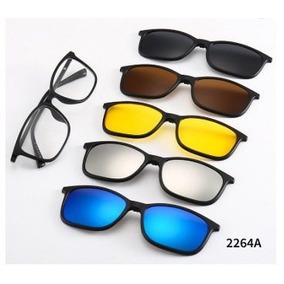 Oculos De Sol Com Armaçao Transparente - Óculos De Sol Com lente ... 7187f82808de