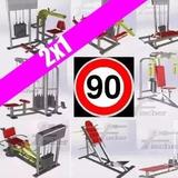 90 Planos Construye Maquinas De Ejercicios Gym Gimnasios Ult