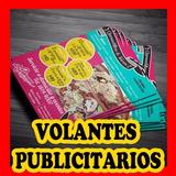 Volantes Publicitarios 1/4 De Carta Bond 20 Blanco Y Negro