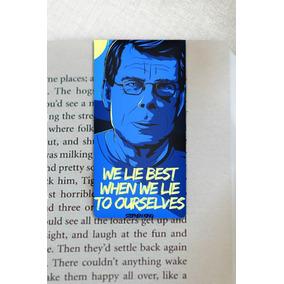 Marca Pagina - Marcador Magnetico Livros Stephen King