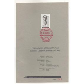 L135-folleto Centenario Natalicio De Lazaro Cardenas 1995