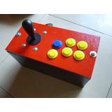 Caja Control Arcade Usb Pc, 1 Jugador A Super Precio !!!