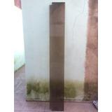 Paño Fijo De Vidrio Blindex 2,05 X 0,295 Mts Fume Tonalizada