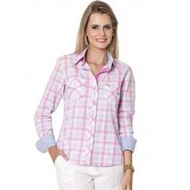 Camisa Da Moda Xadrez Principessa Maria Eduarda