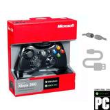 Control 100% Original Microsoft Dualshock Usb Para Xbox, Pc