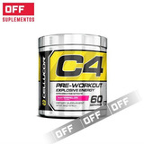 C4 Explosive Energy 60 Servicios. Cellucor. Pre-workout