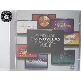 Cd Novo O Melhor Das Novelas Nacional Vol. 3 - C3