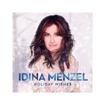 Cd-idina Menzel-holiday Wishes-frozen-lacrado De Fabrica