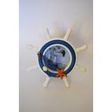Decoración Nautica Portaretrato Ceramica