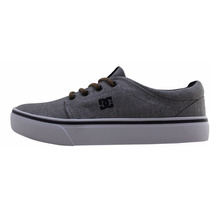 Tênis Dc Shoes Feminino Trase Tx Cinza Claro Original Novo