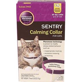 Sentry Calmante Collar Para Gatos, 3 Pack Envío Gratis