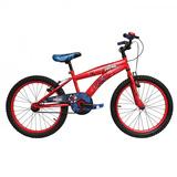 Bicicleta Lahsen Spiderman Aro 20 Roja