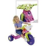 Montable Triciclo Fisher Price Barbie Con Luces Y Sonidos
