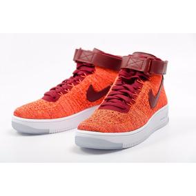 Tênis Nike Air Force 1 Flyknit Mid Feminino Sneakers Retrô