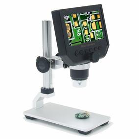 Microscopio Electrónico Digital 8 Led De 4.3