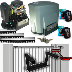 Kit Motor Portão Eletrônico Deslizante Garen + Suporte Aereo