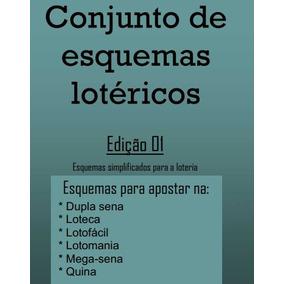 Conjunto De Esquemas Lotéricos Edição 01 E 02