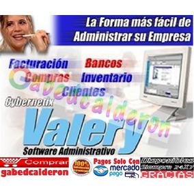 Valery 1.96 Estándar Facturar Ventas Negocios Y Tiendas Pyme
