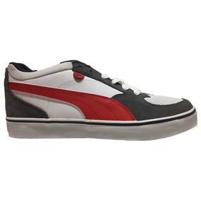 Tenis Puma Skate Vulc - Gris 354604-05