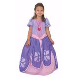 Disfraz Princesa Sofia Con Accesorio Luminoso New Toys