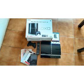Ps3 Fat Na Caixa Com Manual Controle Remoto 550 Reais