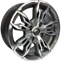 K61 Jogo Roda New Fiesta 4x108 Aro 14 Ford Eco Esport