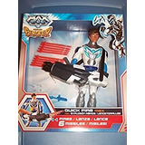 Juguete Max Steel Deluxe Figura Rise Of The Elementor - Ráp