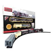 Tren Clasico Rail Kimg Con Sonido 19 Piezas 19026 Bigshop
