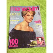 Revista Manequim Lady Di Chic Festa Saias Florais C/ Moldes