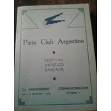 Publicidad Catálogo Patín Club Argentino Año 1939 Coleccion