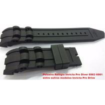 Pulseira Relógio Invicta Pro Diver 6983 6981 Nova Silicone